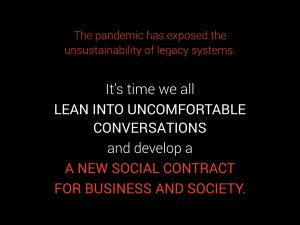 A new social contract for business and society
